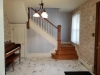 Foyer with marble entry
