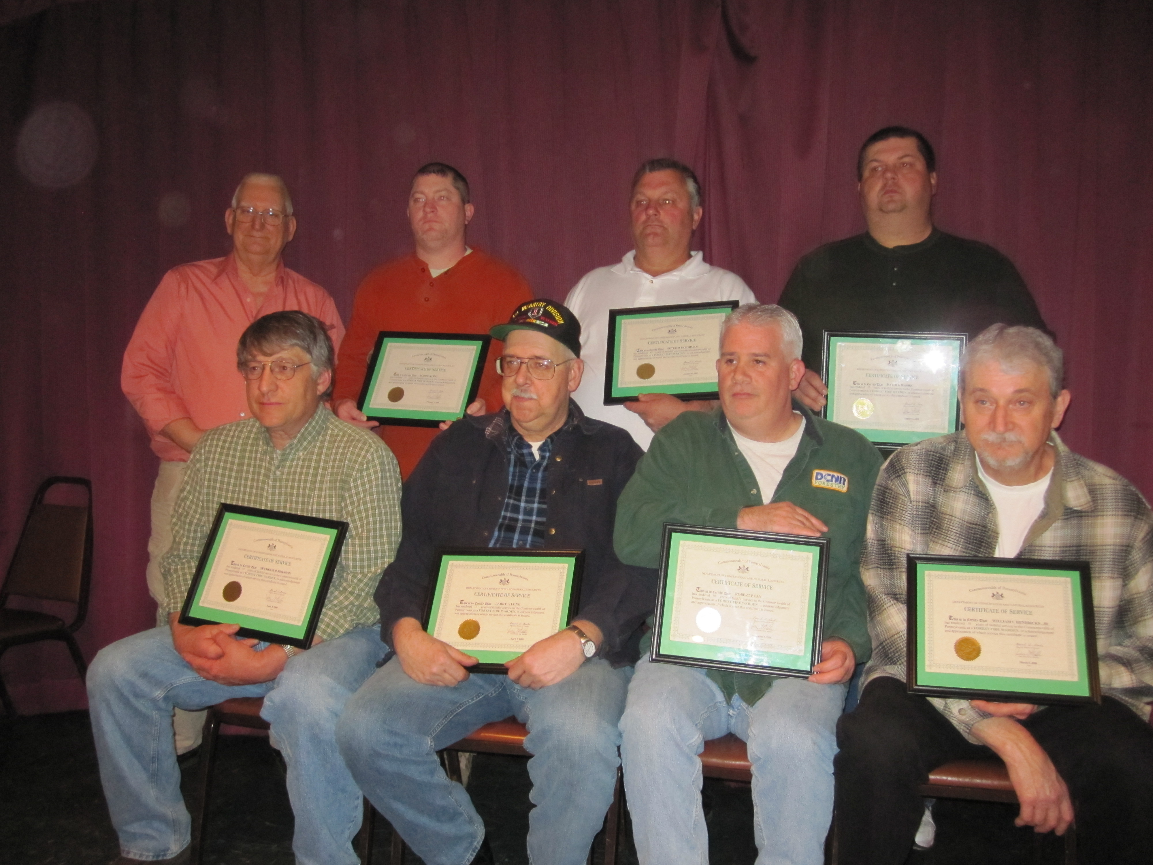 Moshannon State Forest Fire Wardens Meet (Photo by Greg Neeper).