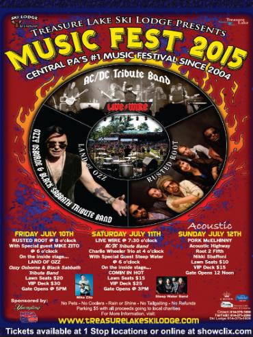 Music Fest 2015 Announces Performance Line-up