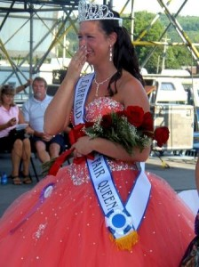 Misti Bruner was crowned the 2012 Clearfield County Fair Queen. (GantDaily File Photo)