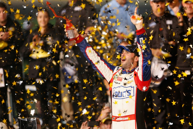 It doesn't matter how the format is set up, Jimmie Johnson and his crew find a way to get the job done, as he's now a four-time All-Star Race winner.