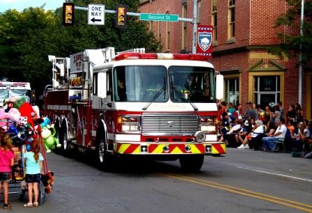 Updated Line-up for Clearfield County Fair's Fireman's Parade