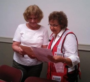 Sherry Hoover is pictured at right and Charlotte Kessler at left. (Provided photo)