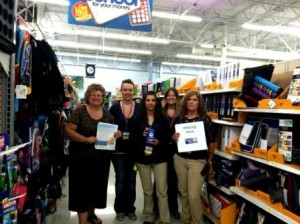Shown are Nancy Pinto, Clearfield Area United Way; Misty Modzel; Zone Supervisor Jeanette Cupp; Brooke Sterneski; and Customer Service Manager Wendy Maines. Not shown is Christie Pizzella. (Provided photo)
