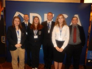 Pictured, from left, are Kilee Hanes, Jesse Kruis, Elizabeth Dunsmore, Chris Young, Jr., Maggie Naddeo and Jon Smeal. (Provided photo)