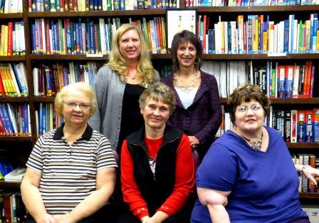 Pictured, in the back from left, are Debbie Rhed, DBC workshop instructor and Lori Skraba. In the front row from left are Mary Ann Patterson, Diane Means and Kathe Ginther. Missing from the photo is Brenda Cimino and Patty Smith. (Provided photo)