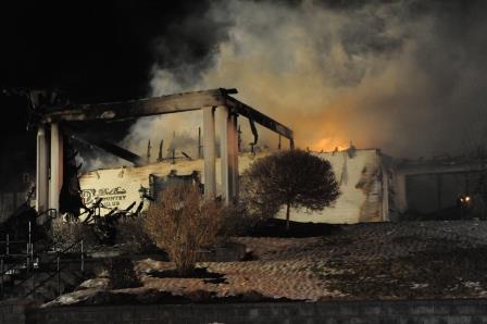 Fire Devours DuBois Country Club