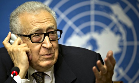 Lakhdar Brahimi told a press conference in Geneva that co-operation from both sides and a lot of support from the outside is needed. (Provided photo)