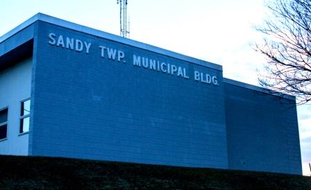 Sandy Twp. Receives State Aid