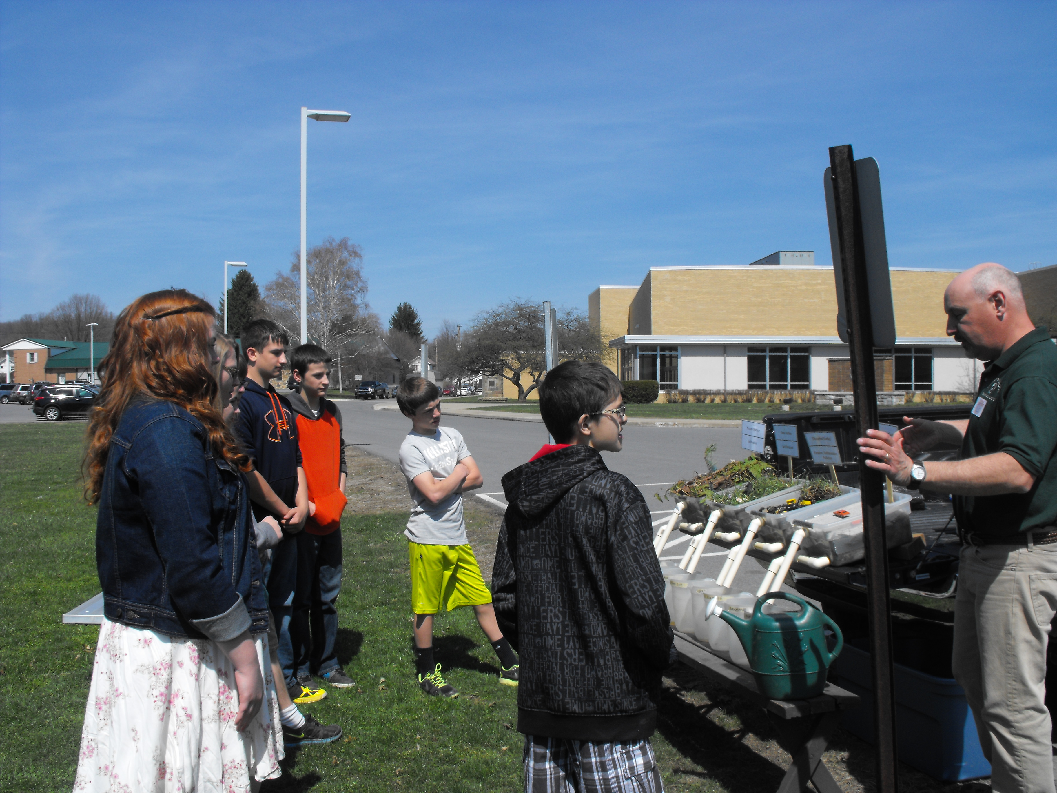 Curwensville Students Celebrate Earth Day