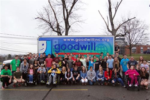 DAHS Pound-for-Pound Challenge Collects Clothing for Goodwill