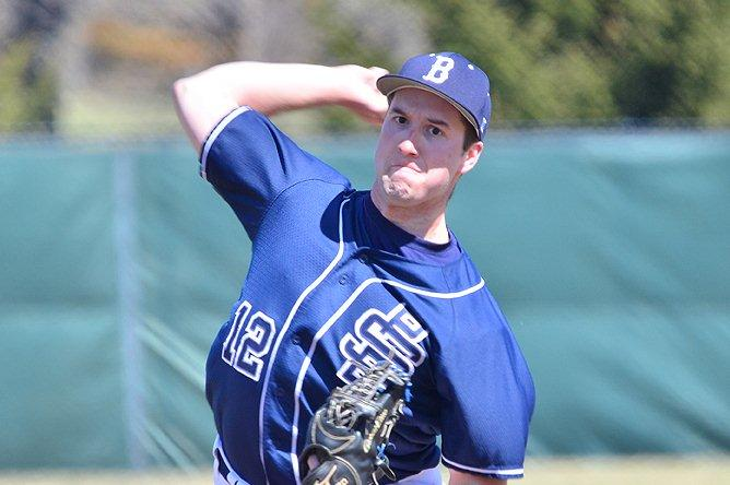 Senior Chad Zuratt of Clearfield was named Third Team AMCC All-Star in his first year as a starting pitcher.(Photo courtesy Penn State Behrend)