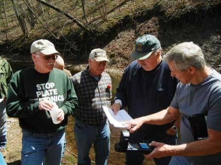 SEC members from Cambria County attend baseline water testing training. (Provided photo)