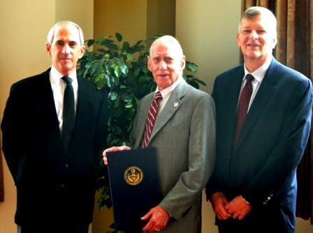 Robert M. Kurtz Jr. Receives Honorary Degree at  LHU Commencement