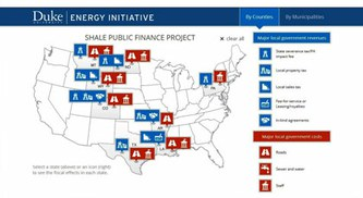 Shale Development Seen as Positive for Local Gov't Finances in 10 Oil and Gas Plays in U.S.