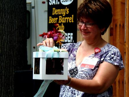 PHOTOS: Hospice Holds Butterfly Release at Fair