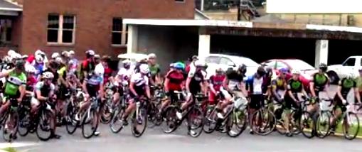 VIDEO: Bicyclists Participate in Tour De Susquehanna Race