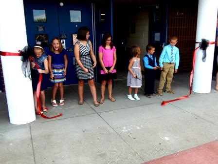 School Officials Dedicate Clearfield Area Elementary