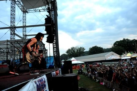 CONCERT REVIEW: Joan Jett and the Blackhearts Rock Out at Clearfield Fair