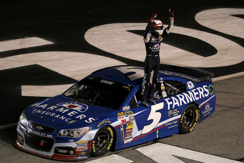 The way to guarantee a Chase spot now is to simply win.  It took a while, but Kasey Kahne finally got his.
