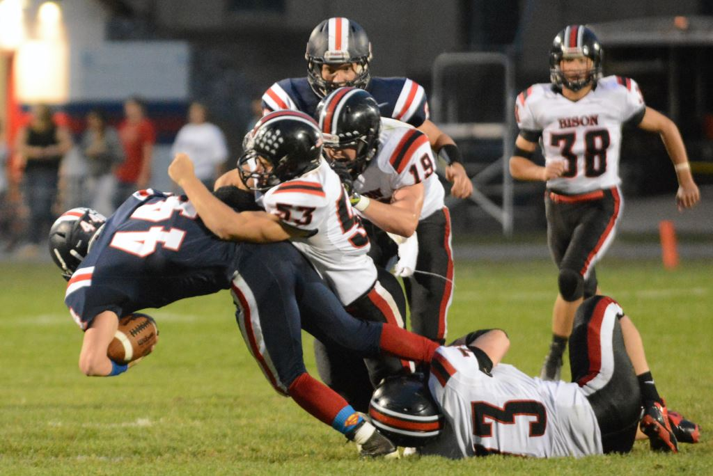 Control of the Clock and Line of Scrimmage Give Clearfield Dominant Win over Huntingdon