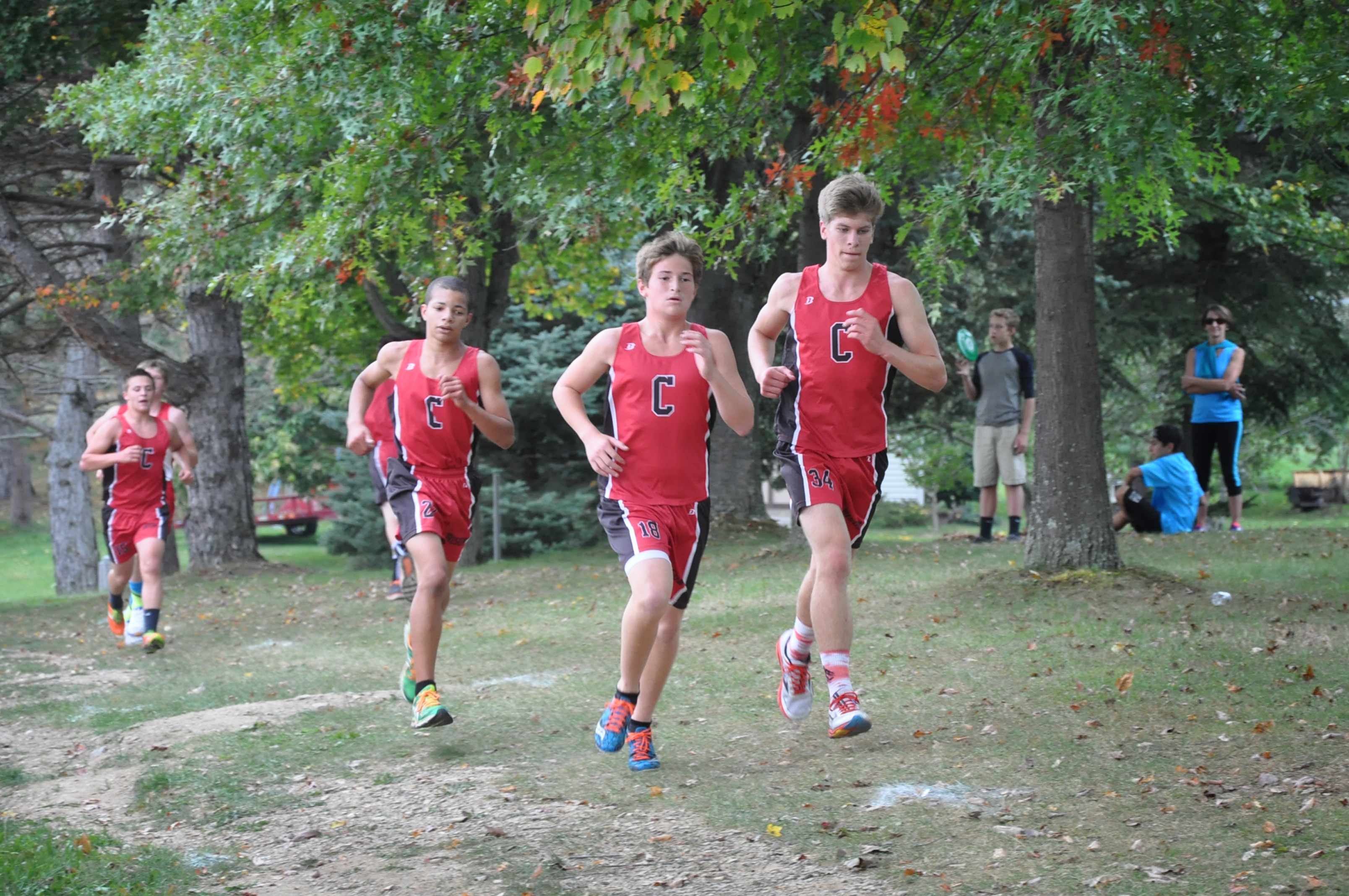 Clearfield Cross Country Teams Sweep Home Meet