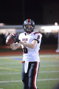 Cody Spaid threw for three TDs in the win over BEA (Photo by Logan Cramer III)