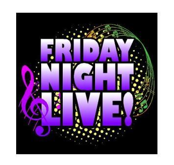 Friday Night Live! Coming to Clearfield Arts Studio Theatre