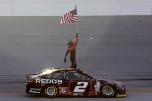 He had everything to lose if he didn't win.  So what did Brad Keselowski do...he went out, and won.