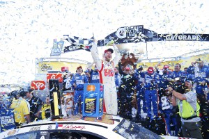 What Chase?  Sure, there is no championship this year for Dale Earnhardt Jr, but he still knows how to win.