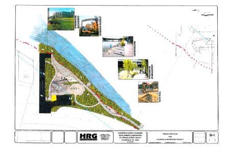 Clearfield Borough Authorizes Drafting Documents for Riverfront Project