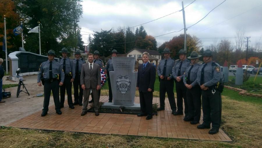 Local Legislators Honor Slain Officer