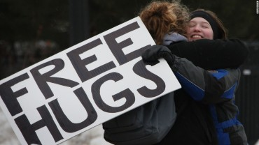 Give hugs, avoid colds
