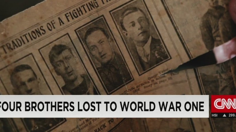 The four brothers lost to World War I
