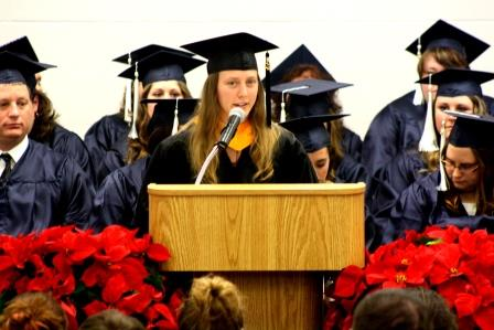 Thomas Encourages Grads to Dream Big at Fall Commencement