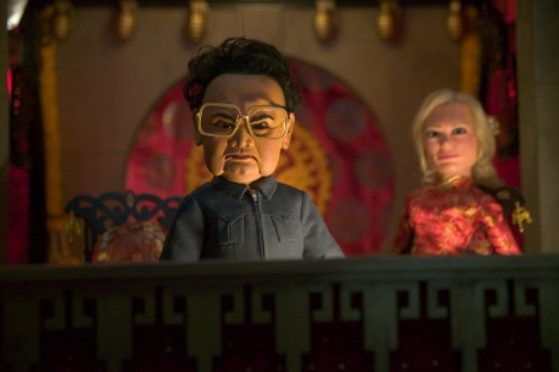 At one theater, 'Team America' replaces 'The Interview'
