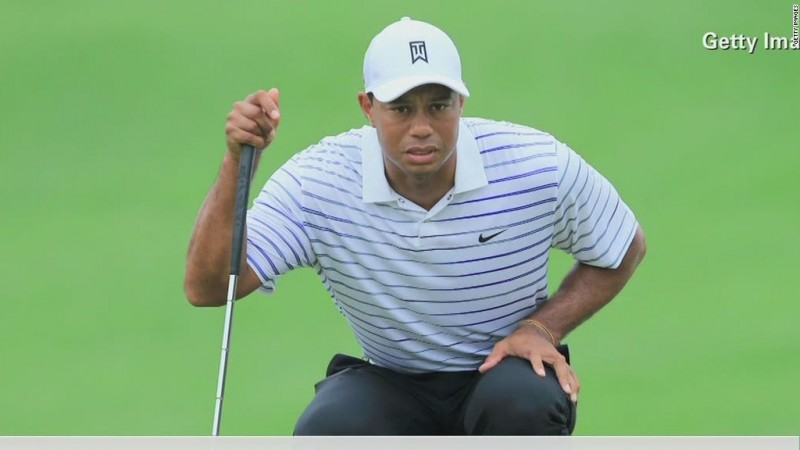 Video: Tiger Woods not laughing at spoof