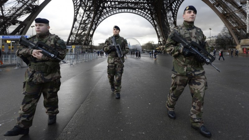Police: Two hostage situations near Paris