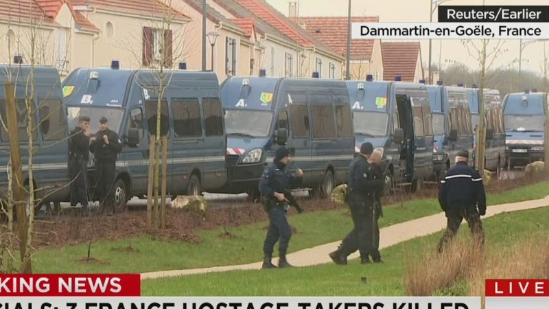See how the Hebdo suspects were taken down
