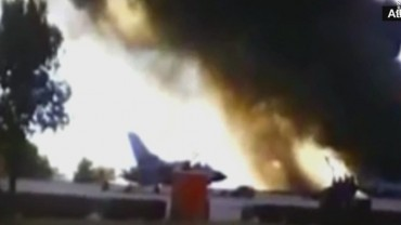 At least 10 dead in fighter jet crash
