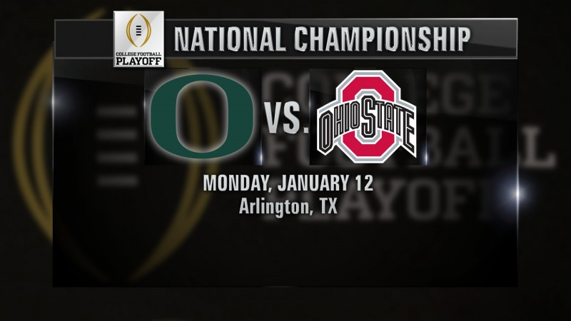 Oregon, Ohio State to meet in NCAA football championship