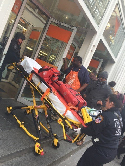 home depot shooting in manhattan with Ny Police Shoppers In Crowded Home Depot Store Forced To Flee Murder Suicide on 710997 moreover Shooting Home Depot Store New York City Leaves One Dead additionally Least 8 Dead New York City Terror Attack After Truck Careens Down Bike Path 37684 further Multiple Casualties Reported New York Shooting 1645375 besides Home Depot Employee Shot Supervisor Turned Gun Passed Promotion Dumped Girlfriend.