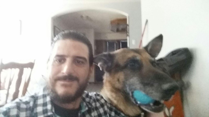 Man reunites with stolen dog during search for new pet