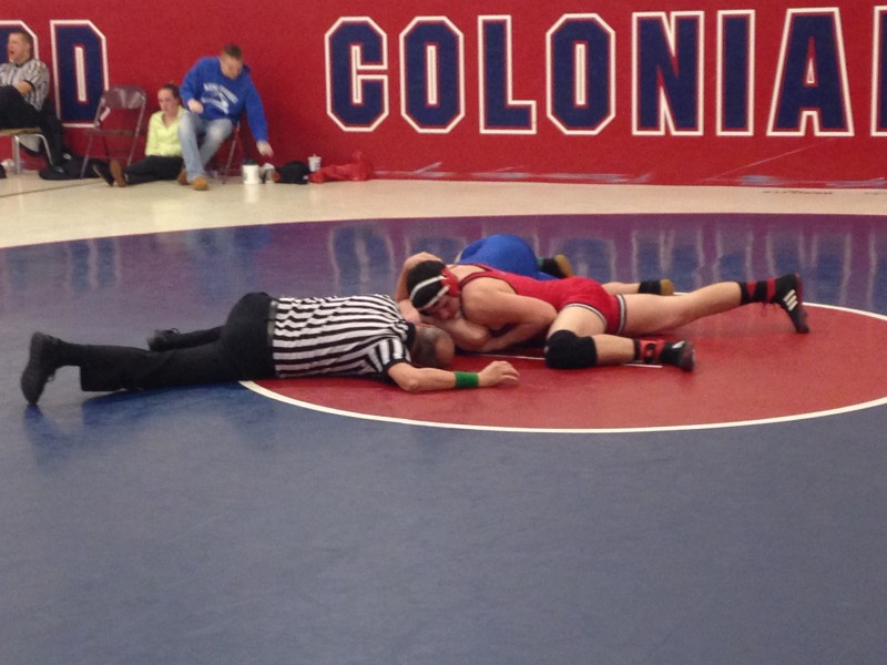 Bison Wrestlers Competing at New Oxford Tournament