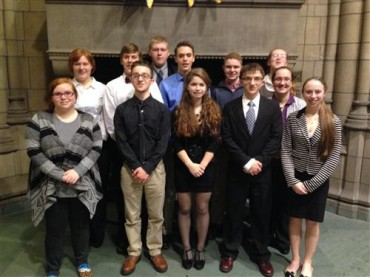 DuBois Mock Trial Team Goes 4-0 at University of Pittsburgh Invitational