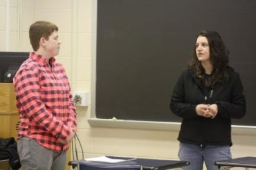 Students Learn Pros and Cons of Small Business from Local Entrepreneur