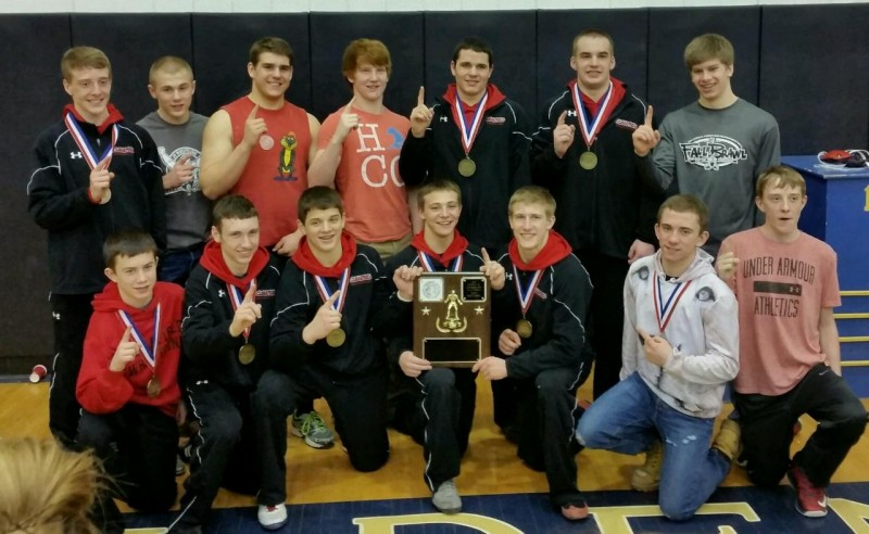 Bison Wrestlers Crown Six Champs and Claim D9 AAA Team Title