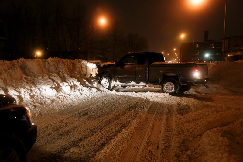 Boston has its snowiest month on record