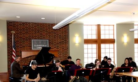 LHU Clearfield Holds Lunchtime Jazz Performance