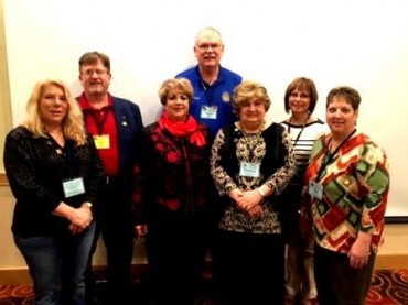 Clearfield Rotarians Attend Training Seminar